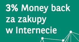 BNP Paribas – moneyback 3% od zakupów internetowych
