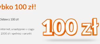 100 złotych od ING Bank Śląski