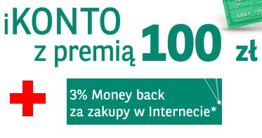 BNP Paribas – 100 złotych i 3% zwrotu za zakupy internetowe