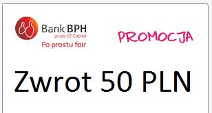 BPH – 3% zwrotu od transakcji kartą plus bonus
