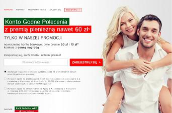Do 170 złotych za założenie konta od BZWBK, Agory i Groupon.pl