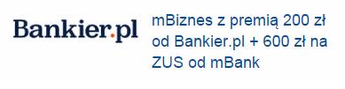 mBank i Bankier kuszą przedsiębiorców premią do 800 złotych