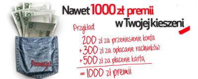 Credit Agricole – kolejne 1000 złotych premii