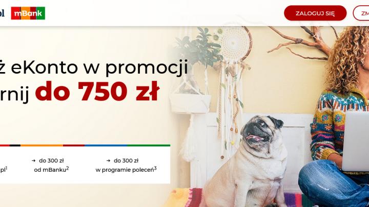 450 złotych premii czyli nowa promocja konta osobistego w mBanku