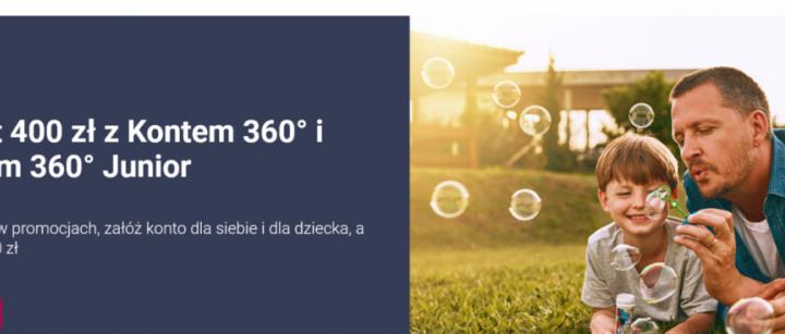 Do 400 złotych premii od Banku Millenium za założenie konta